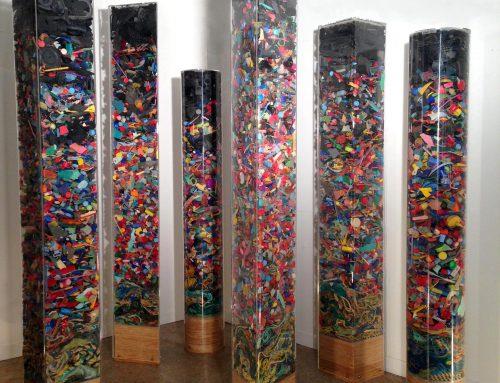 Multi Coloured Totems