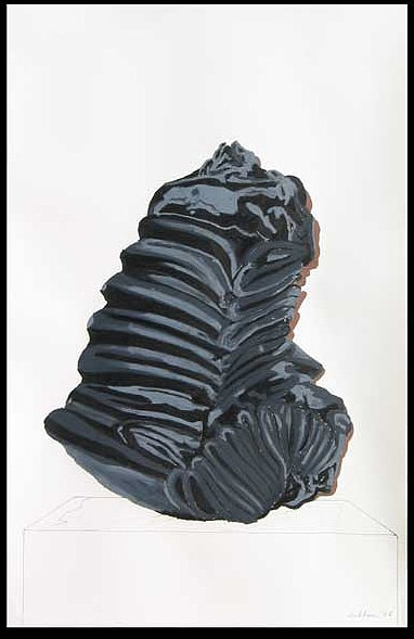 Black Purge on Paper