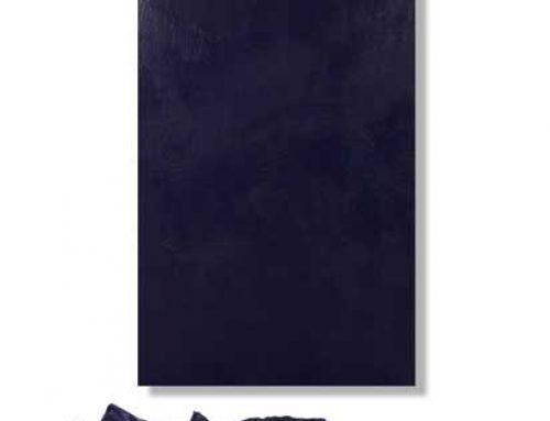 Blue Purge and Encaustic Wax Installation