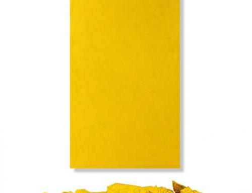 Cadmium Yellow Purge and Encaustic Wax Installation