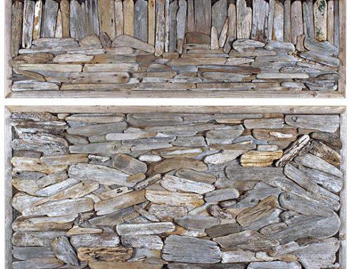 Driftwood Assemblage # 1 (Diptych) Wynne Prize Finalist 2004