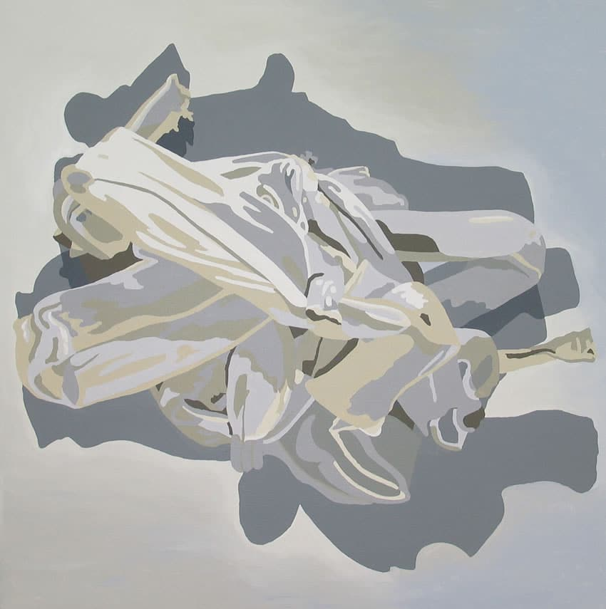 """""""White Purge Painting 1"""" 2006"""