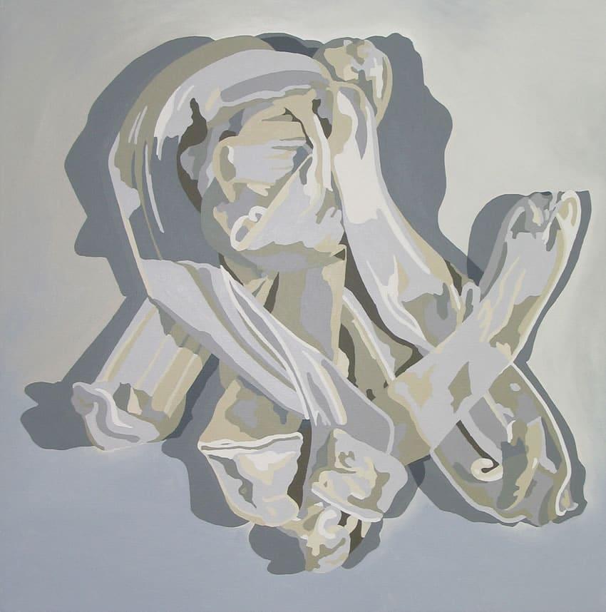 """""""White Purge Painting 2"""" 2006"""