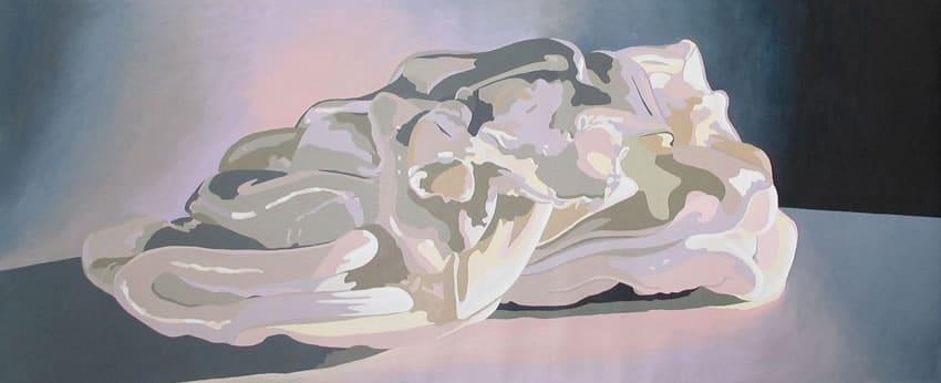 """""""White Purge Painting 4"""" 2006"""