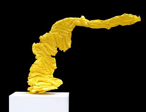 """""""Yellow Plastic Purge 1"""" 2005"""