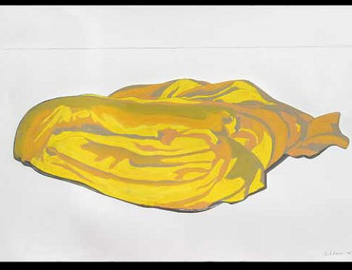 Yellow Purge on Paper