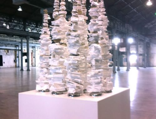 Commonwealth Bank Commission – White Foam Totems
