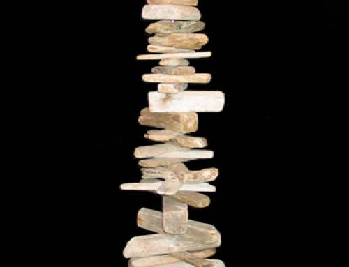 Driftwood Totem Commission for DBI Architects