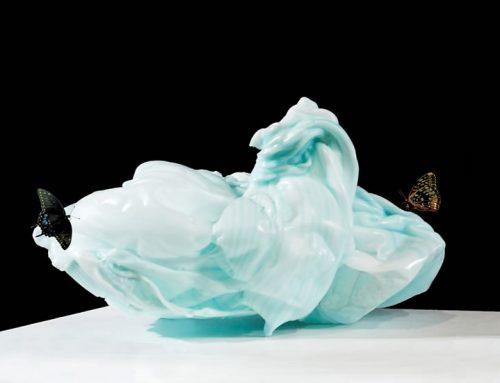 Light Blue Purge with Butterflies