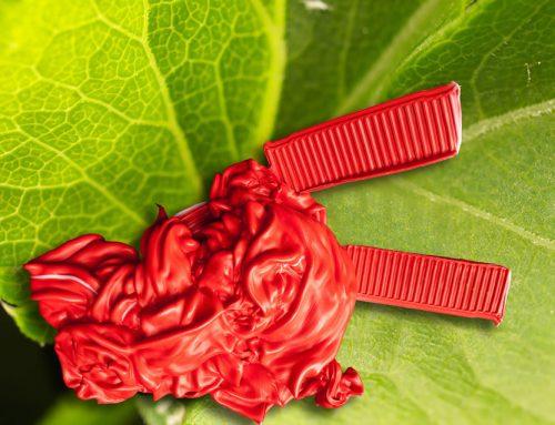 Red Purge On Green Leaf